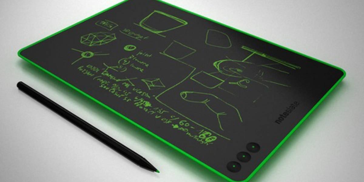 NoteSlate es una tableta bi-color, económica y con mucha batería