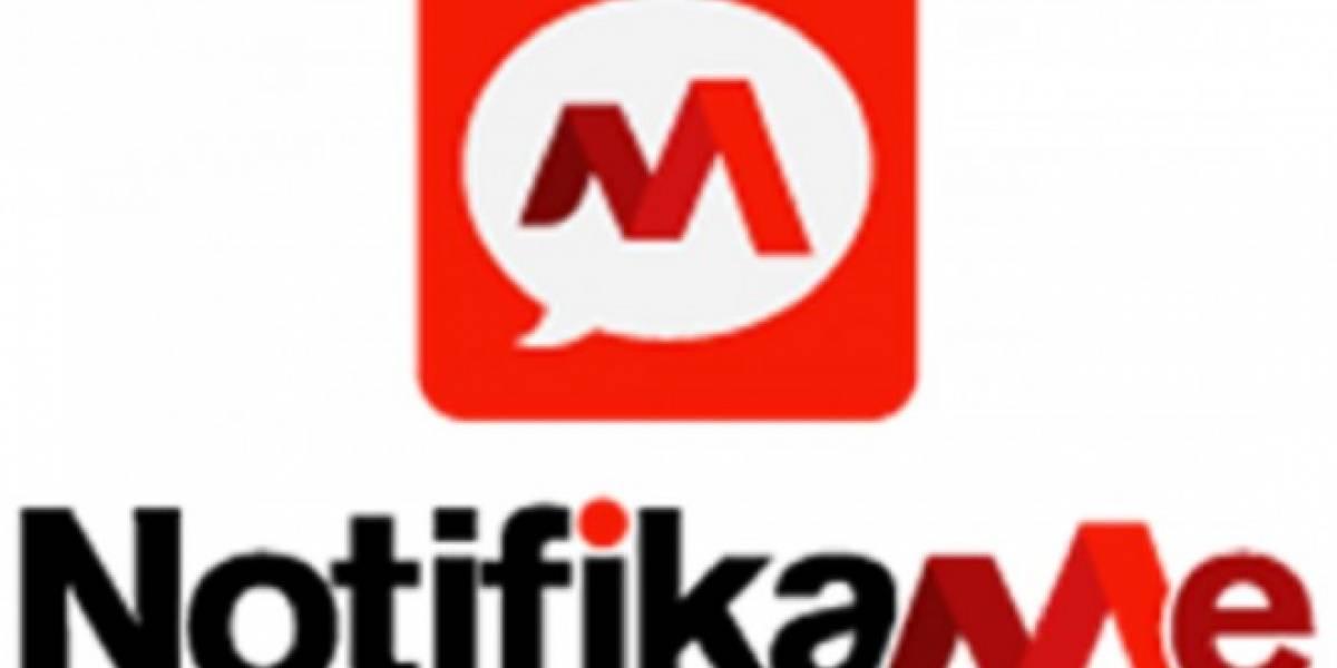NotifikMe te ayuda a evitar el tráfico y retrasos en la línea del Metro en Santiago