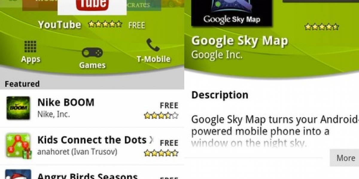 Google retira 21 aplicaciones infectadas del Android Market