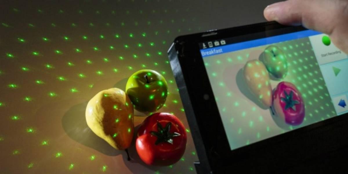 Este dispositivo cuenta las calorías de tu comida con el celular