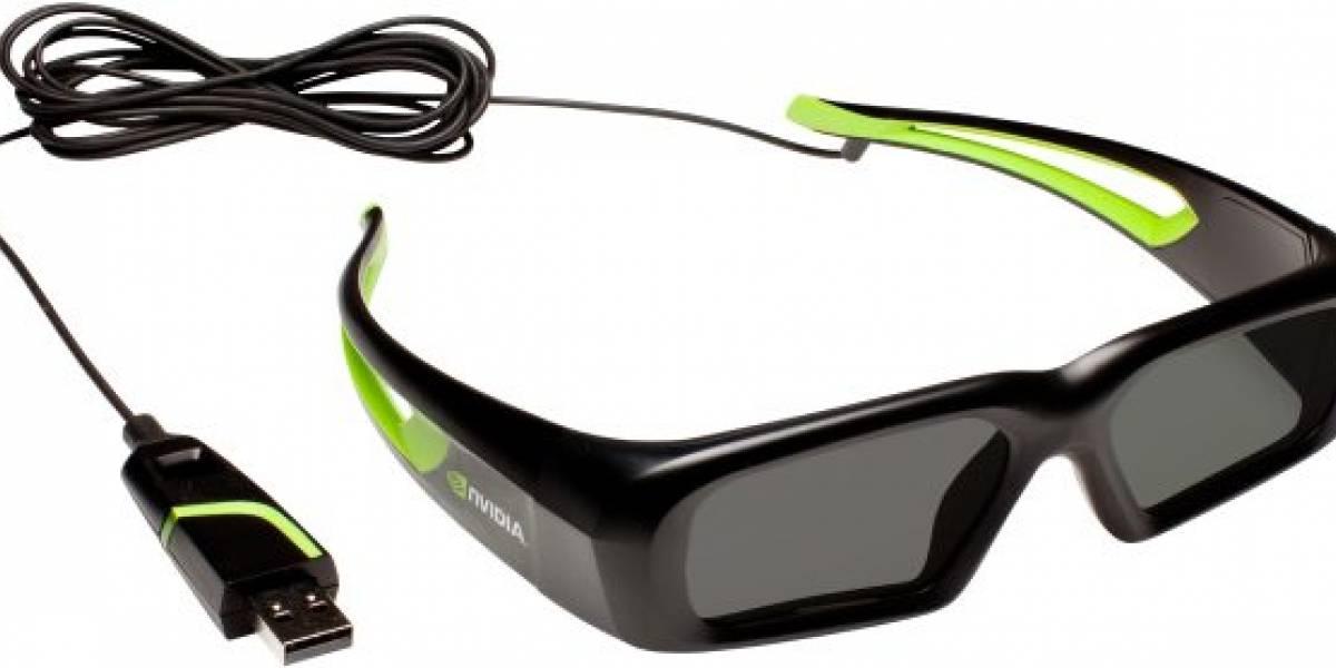 Nvidia lanza lentes 3D más baratos
