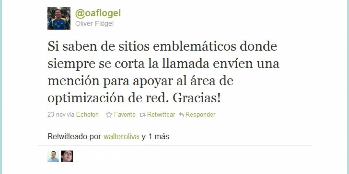 Chile: Movistar nos invita a usar Twitter para mejorar sus servicios