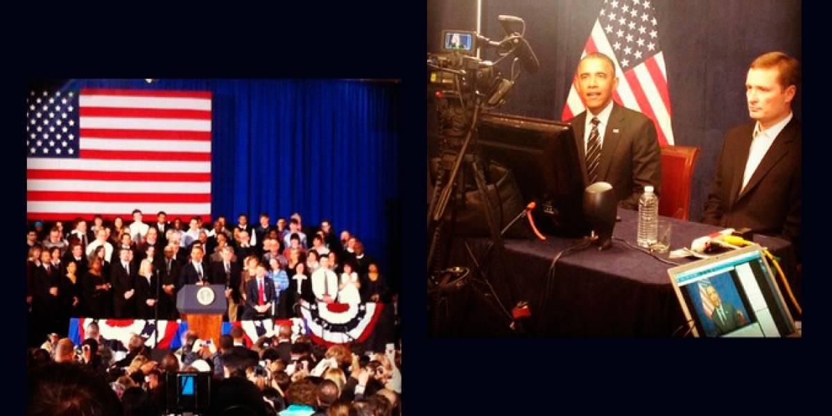 Cofundador de Instagram asistió al discurso del Presidente Obama sobre Estado de la Unión