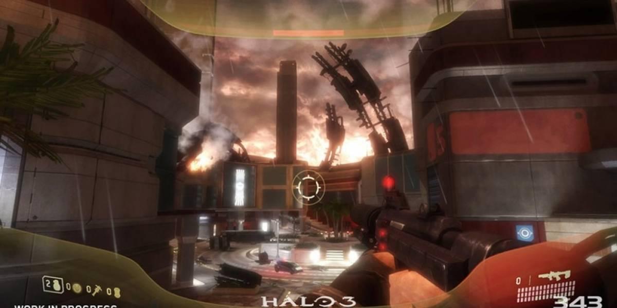 Esta es la primera imagen de la remasterización de Halo 3: ODST