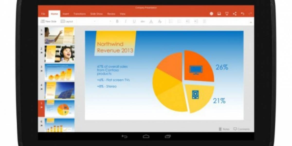 Office, OneDrive y Skype estarán preinstalados en tablets de LG, Sony y otros fabricantes