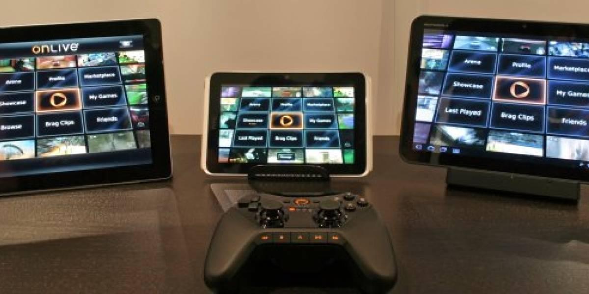 OnLive, el servicio de videojuegos por streaming pronto en móviles y tabletas