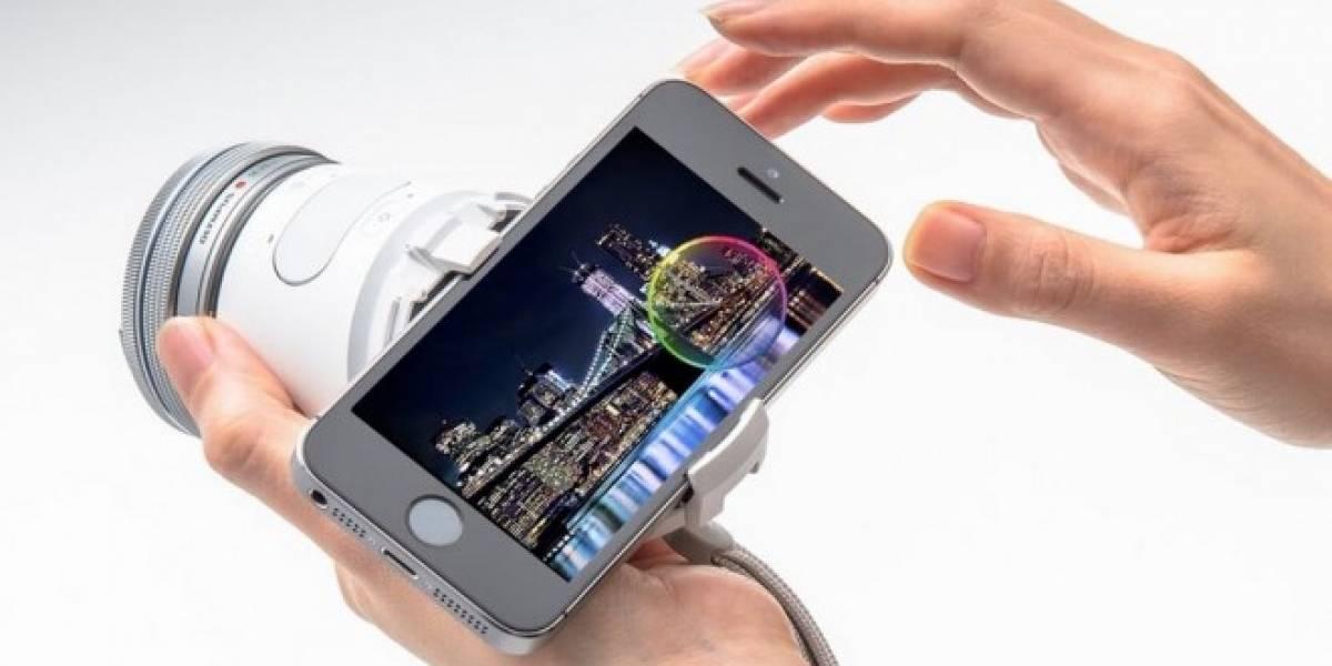 Olympus AIR A01, la cámara que se controla con tu smartphone