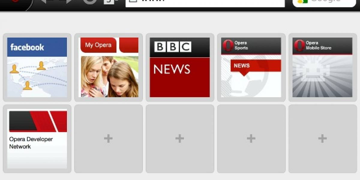 Opera Mini prepara su desembarco en las tablets