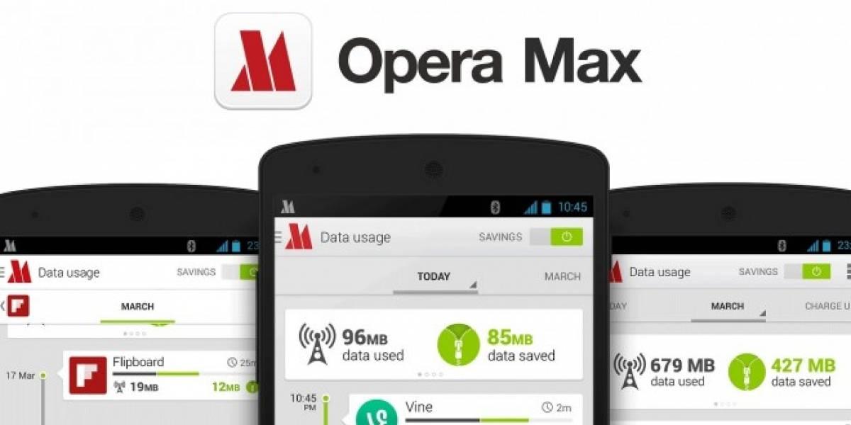Opera Max optimiza tus datos móviles para ver videos sin cortes en YouTube o Netflix