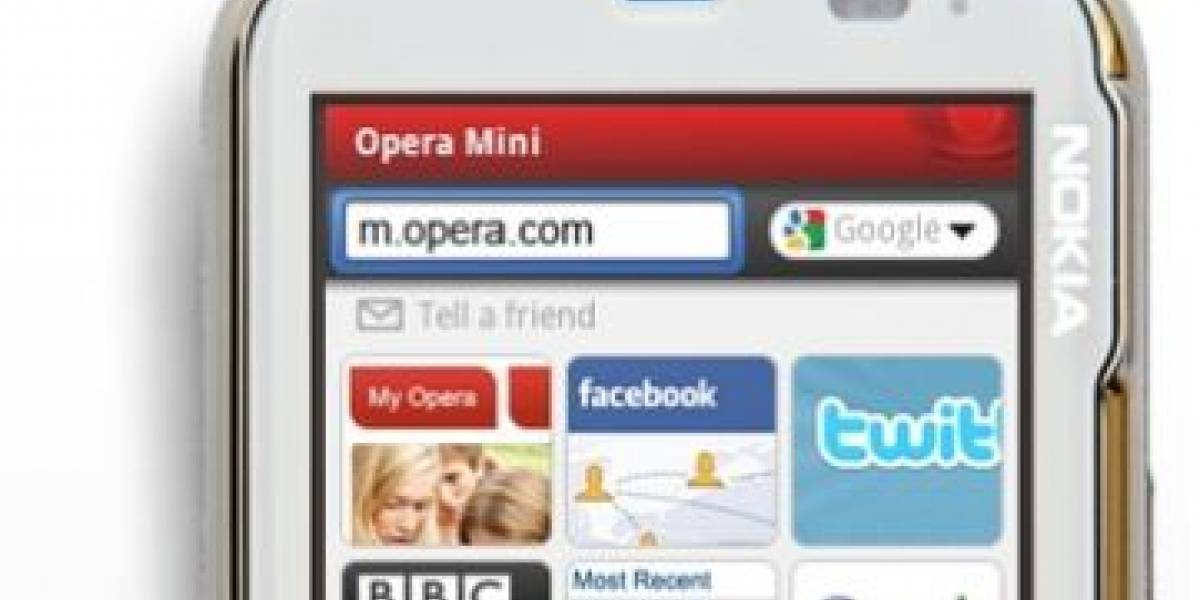 Chile: Entel integrará widgets en Opera Mini