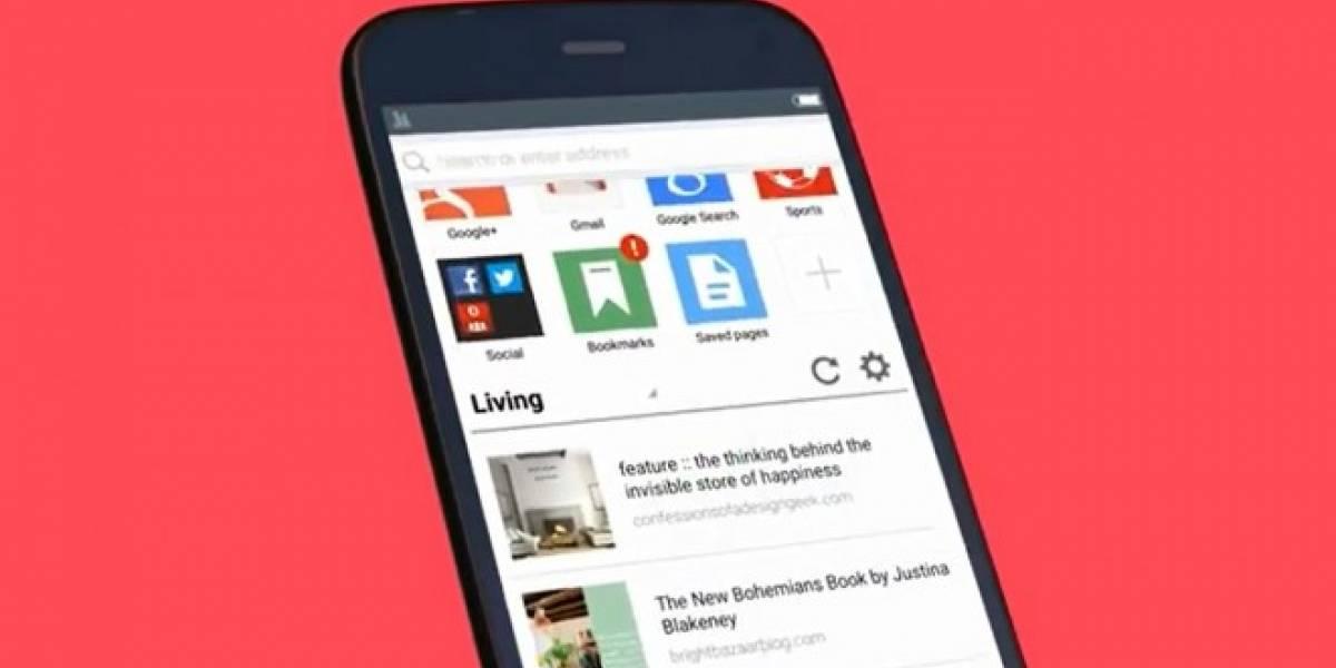 Opera para Android se actualiza y ofrece compresión de video