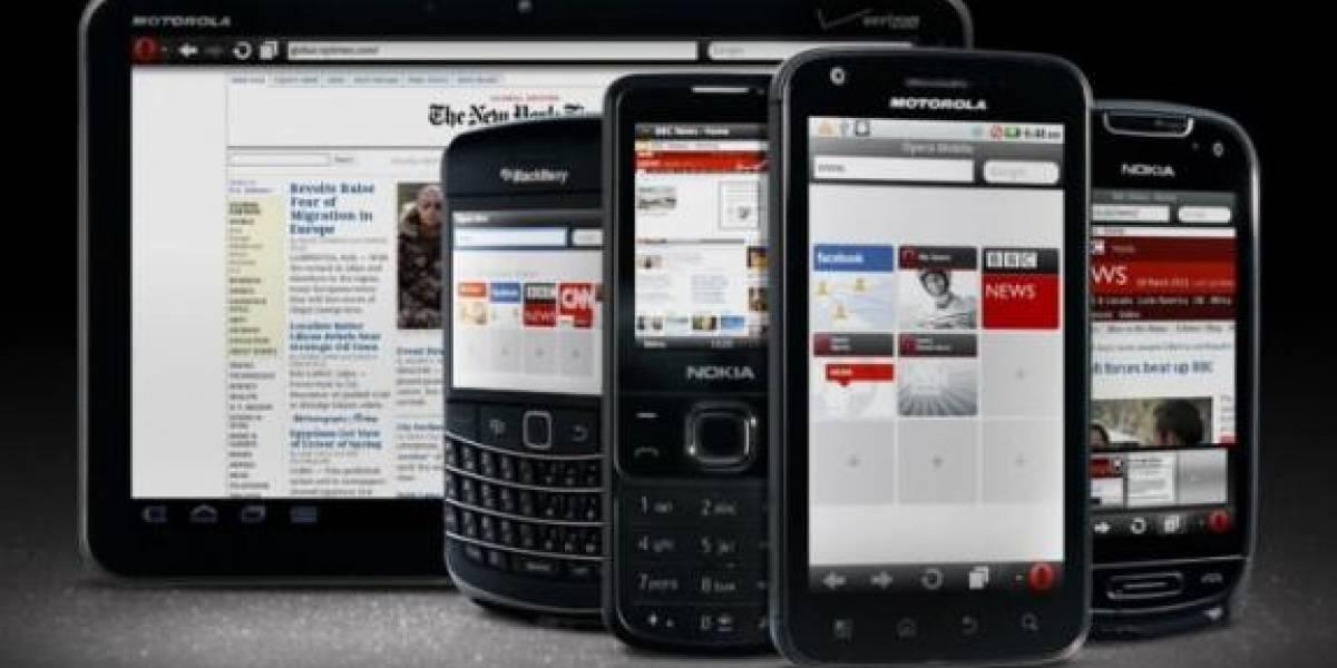 Opera Mini 6 y Opera Mobile 11 lanzados