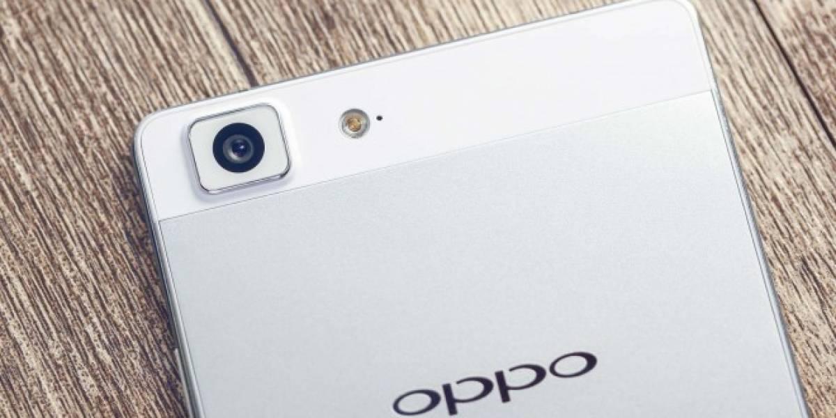 OPPO R5 ya se encuentra disponible en México