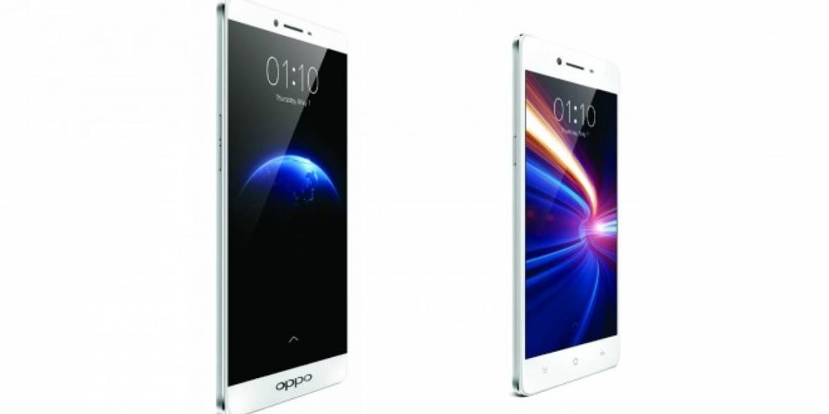 Oppo anuncia sus nuevos teléfonos Oppo R7 y R7 Plus
