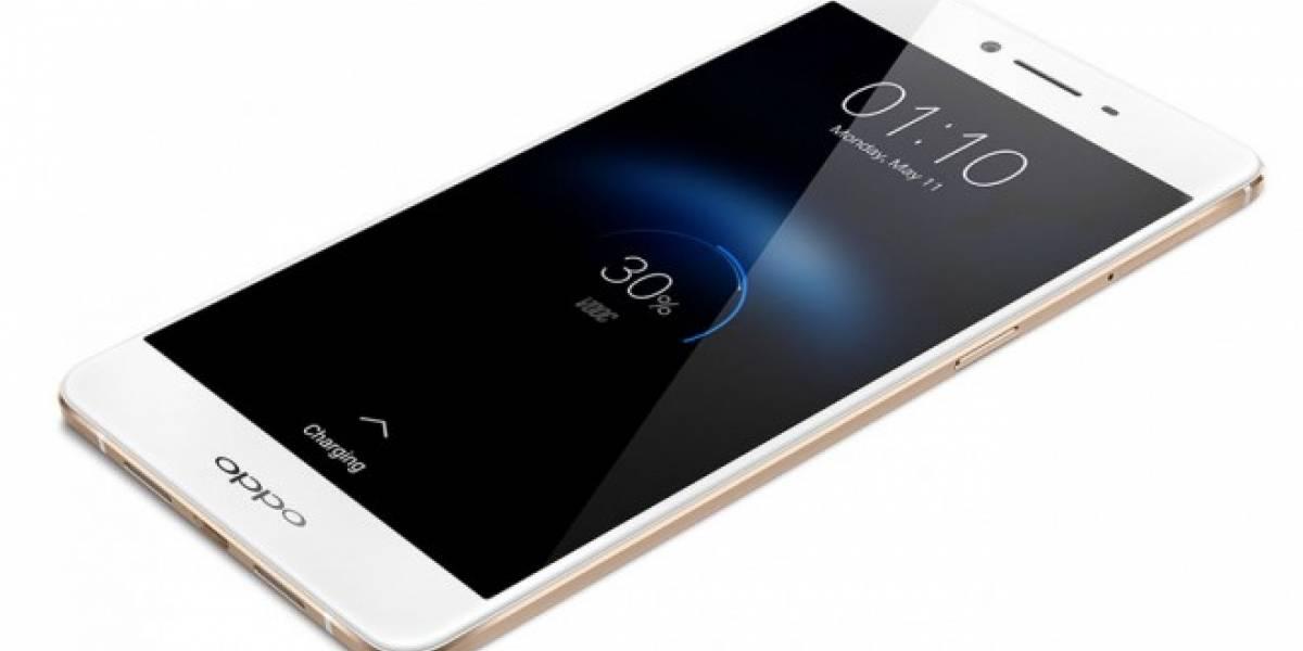 Oppo anuncia el R7s, un gama media con diseño premium