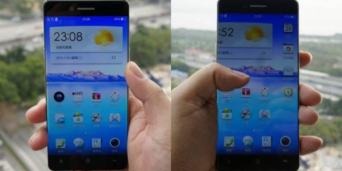 Oppo presenta su nuevo teléfono inteligente casi sin bordes