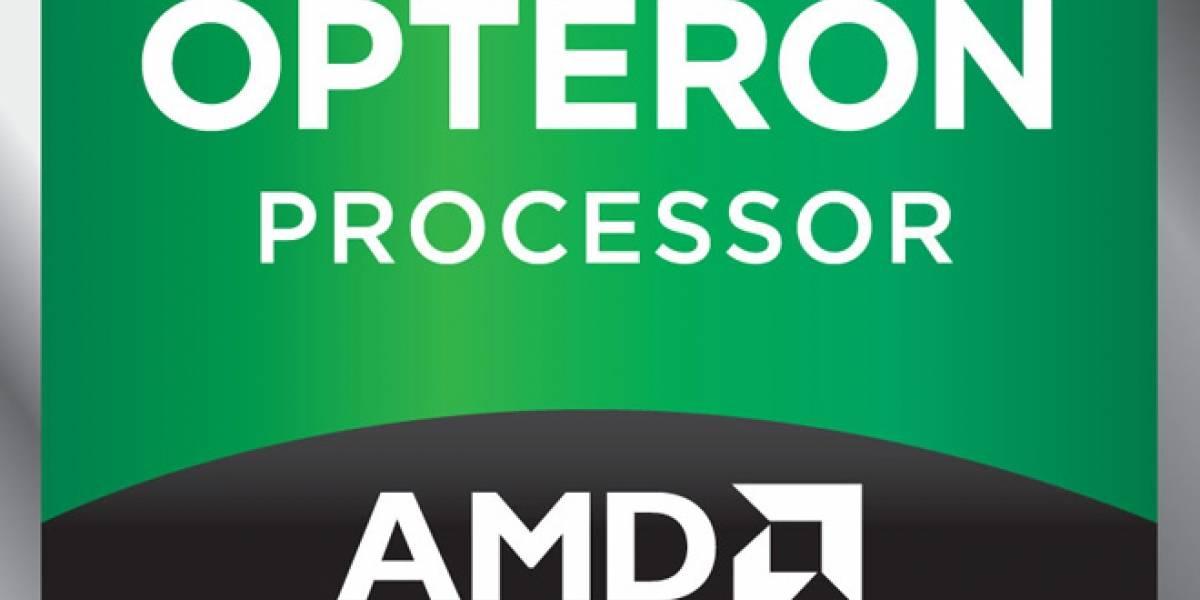 AMD lanza nuevos microprocesadores Opteron 4200 y 6200 Series