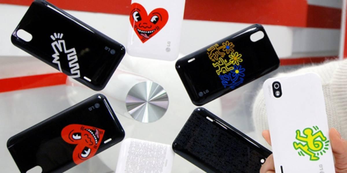 LG deslumbrará con su edición artística del Optimus Black