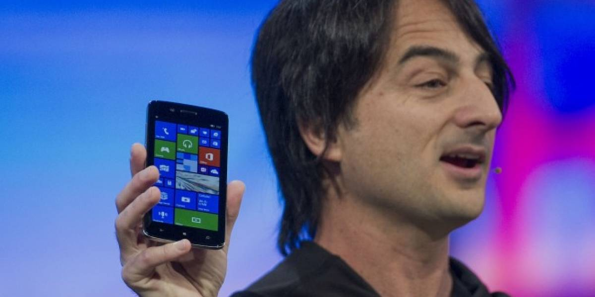 La mente maestra de Windows Phone usa un iPhone