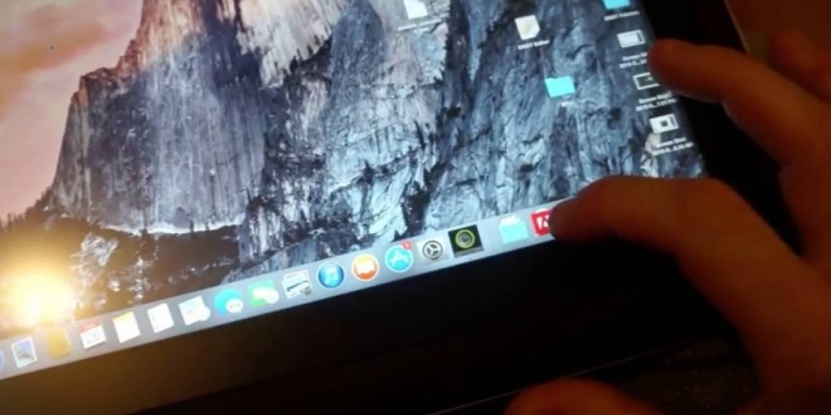 Consiguen instalar OS X Yosemite en una tablet