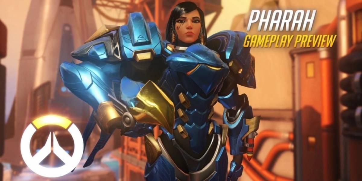 Overwatch recibe nuevos videos con Pharah y Reinhardt en acción