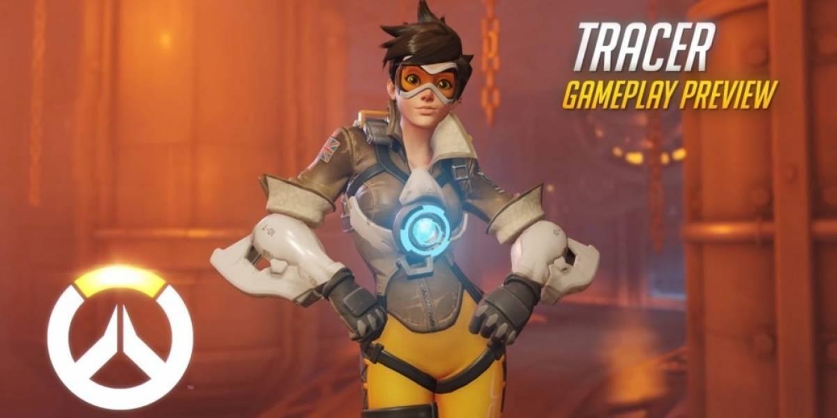 Overwatch recibe nuevo video, ahora centrado en Tracer