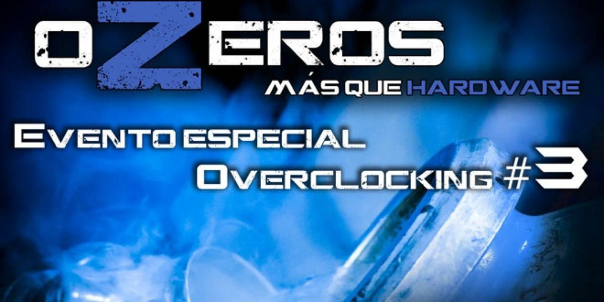 Sesión de overclock de oZeros en vivo y por livestream