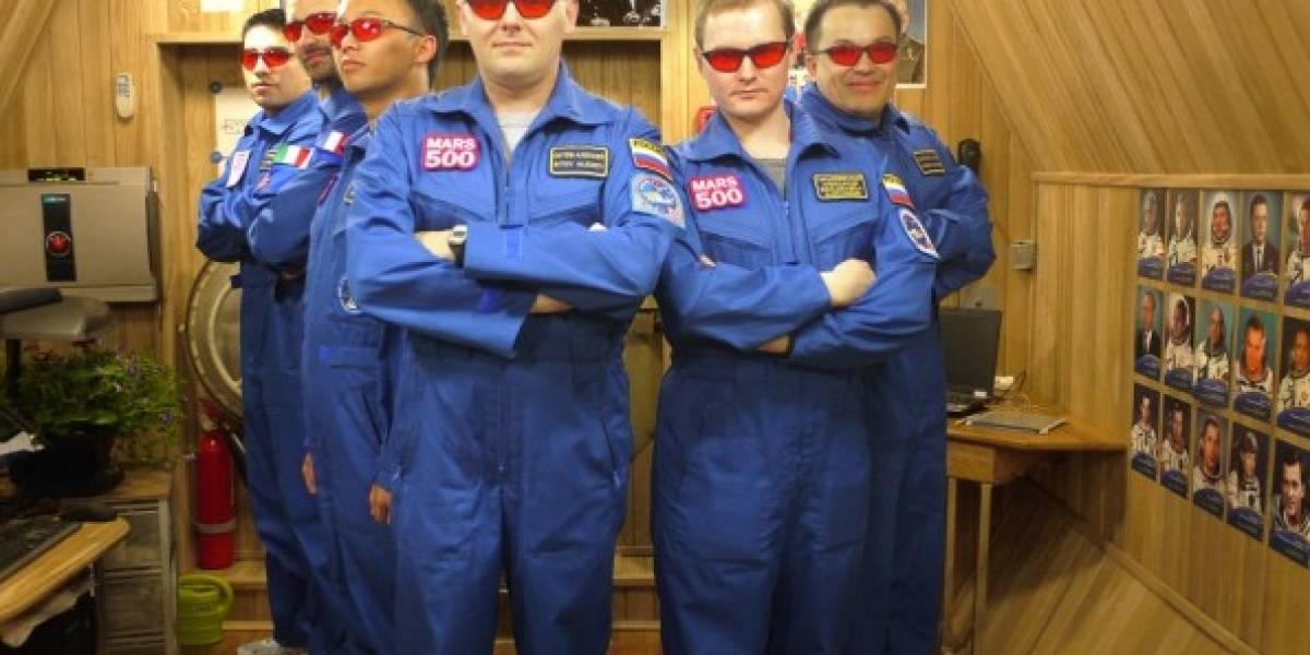 Mars 500 cumplió un año simulando un viaje a Marte