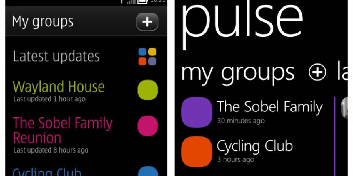"""Nokia lanzará su aplicación social """"Pulse"""" en iOS y Android"""