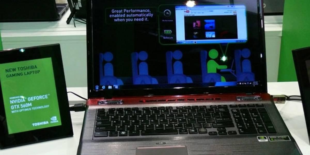 CTX2011: NVIDIA GeForce GTX 560M y más