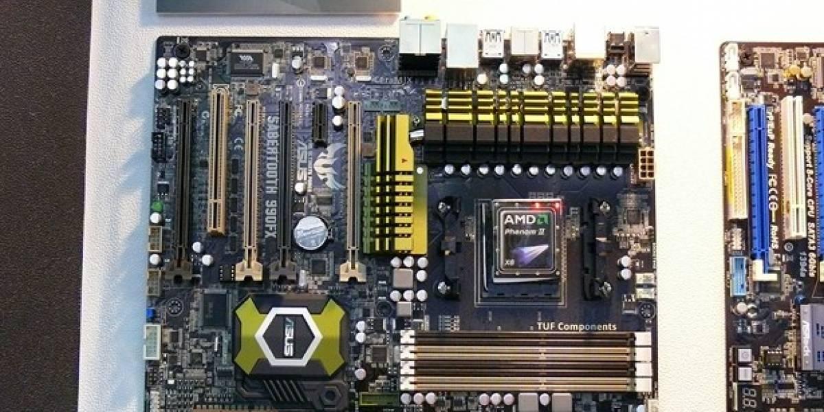 CTX2011: Muchas placas AMD Vision