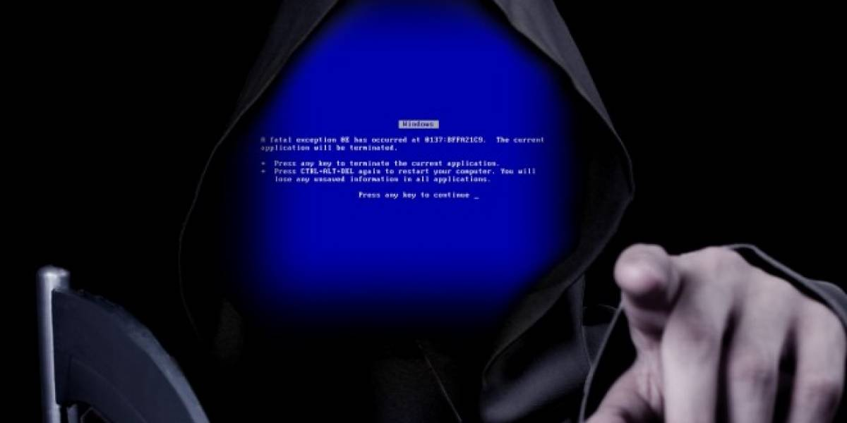 La pantalla azul de la muerte llegó a los relojes Android Wear