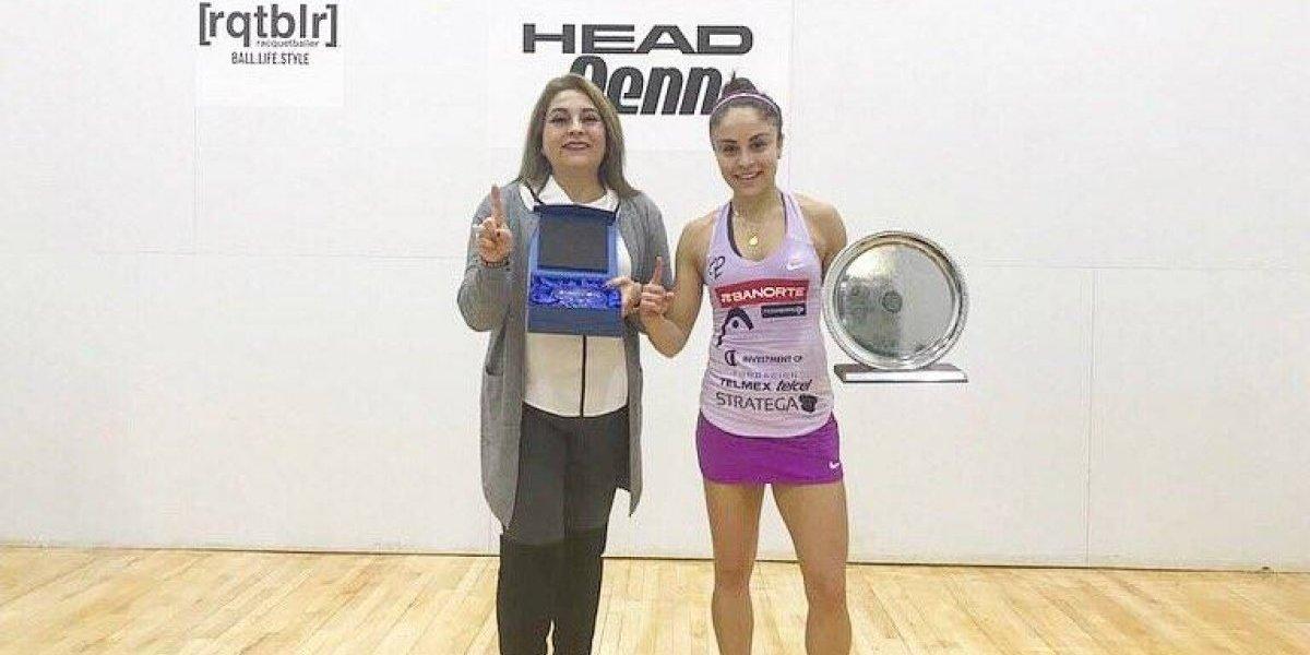 Paola Longoria obtiene su primer título de 2018