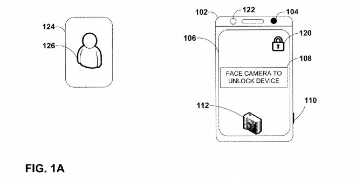 Le otorgan a Google patente para desbloquear el teléfono mediante reconocimiento facial