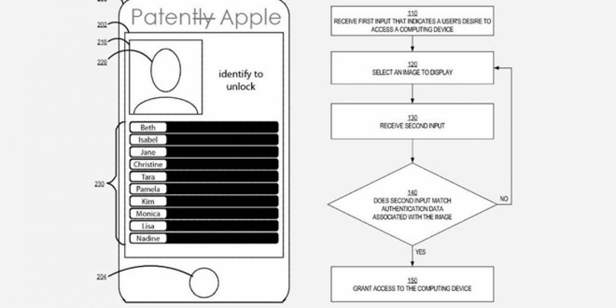 Apple solicita patente para desbloquear dispositivos identificando objetos en una foto
