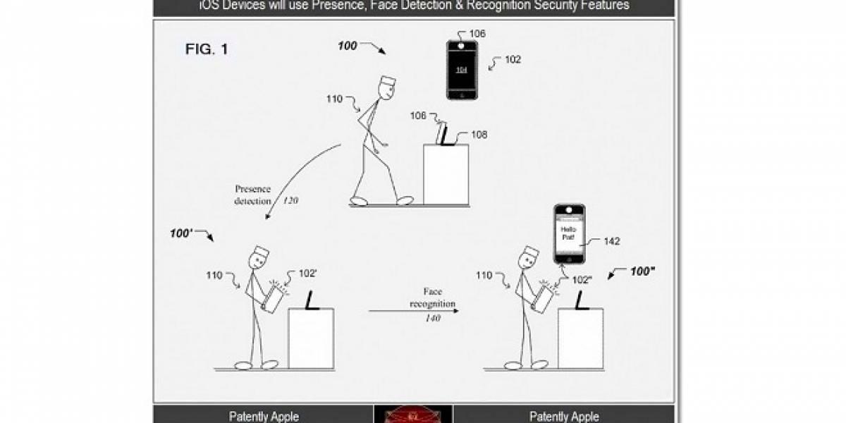 Apple registra una nueva patente: Reconocimiento facial para iOS