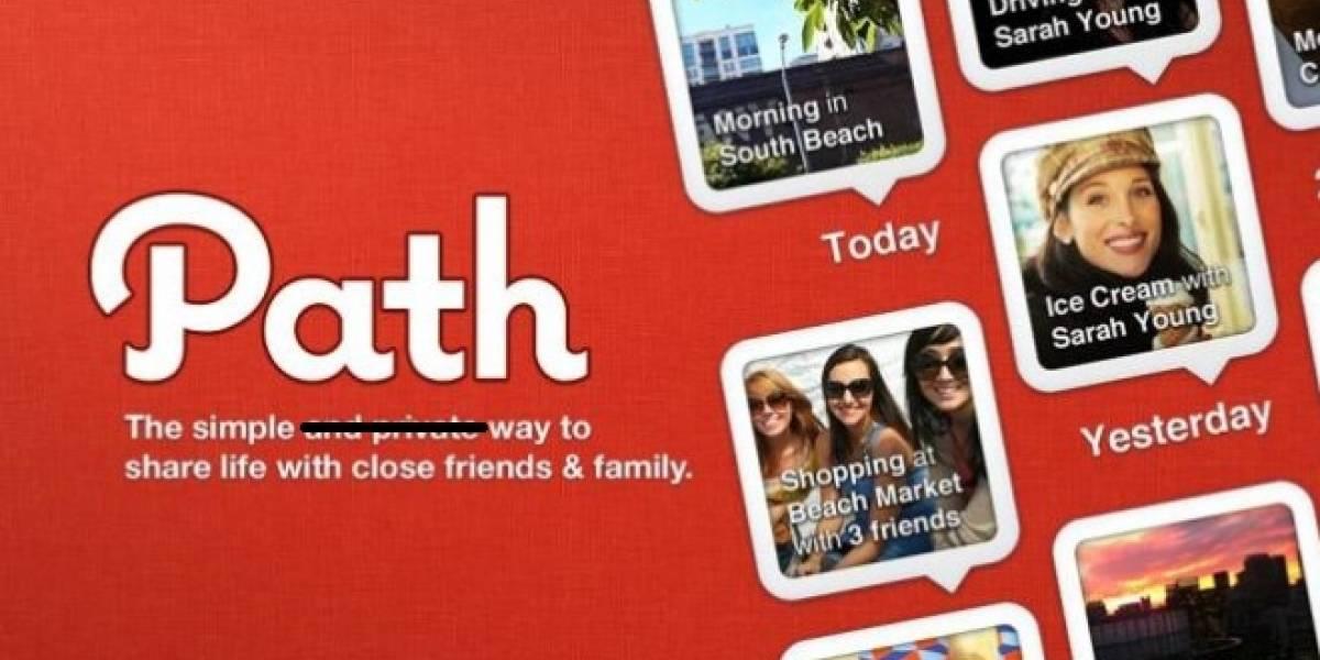 """CEO de Path: """"Subimos sus agendas de contactos a nuestros servidores"""""""