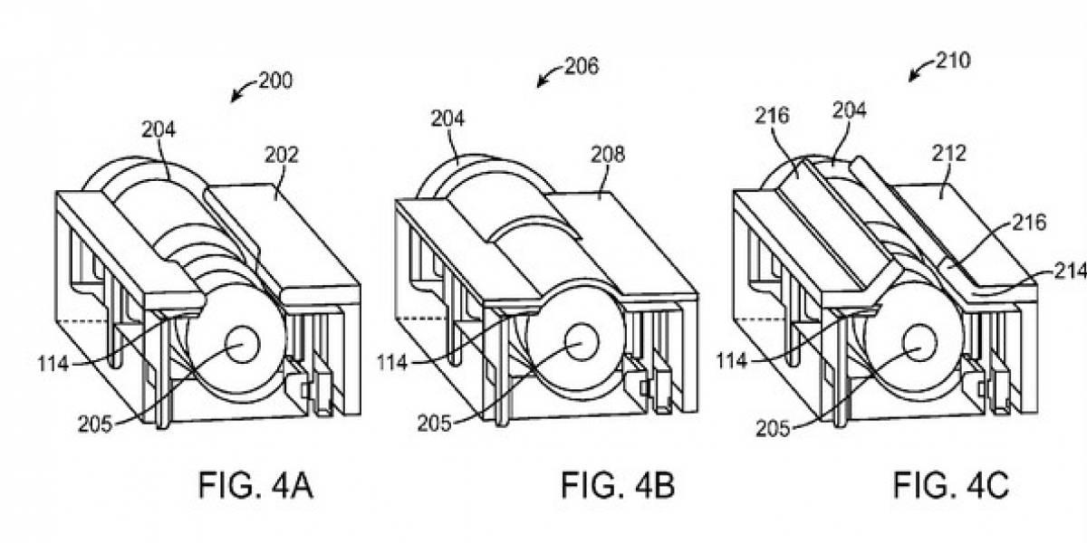 Apple patenta sistema para entrada de audífonos más pequeña de lo normal