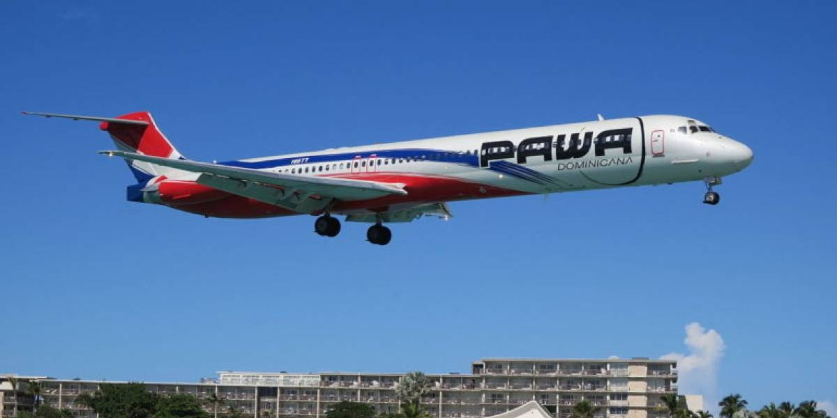Deuda millonaria provoca suspensión de vuelos de aerolínea Pawa Dominicana