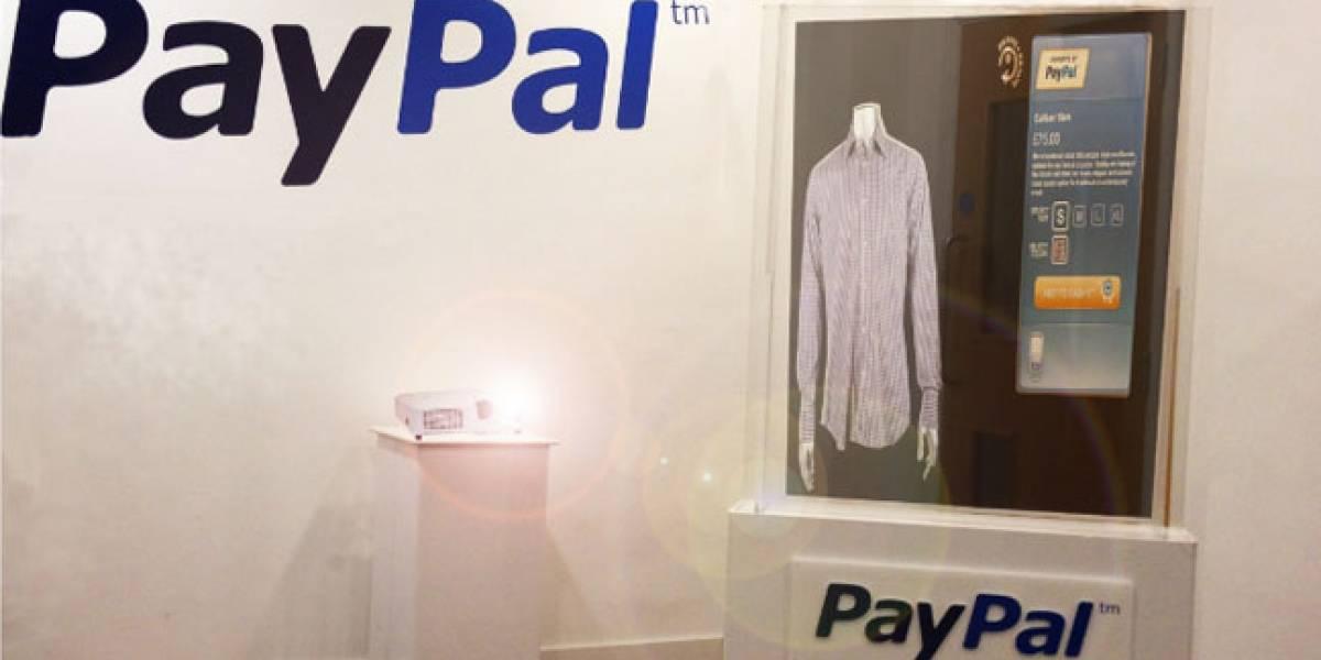 PayPal nos presentó su 'Fashion Window' para comprar desde el escaparate con el móvil