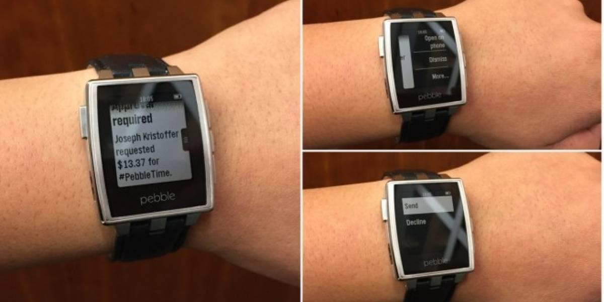 El reloj inteligente Pebble ahora soporta notificaciones de Android Wear