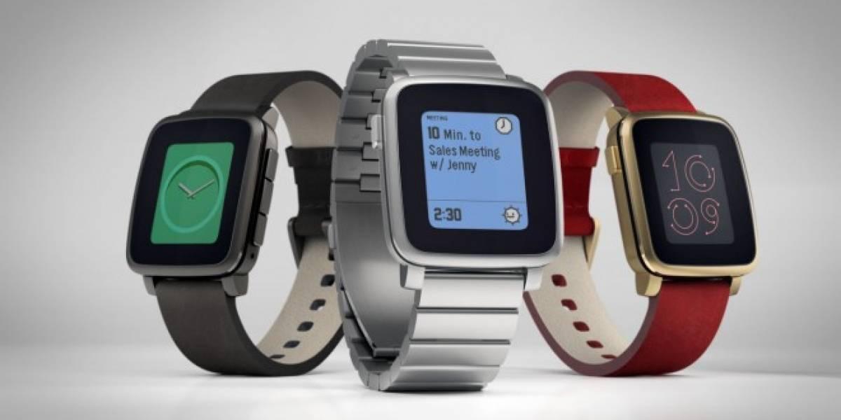 Ya puedes reservar tu smartwatch Pebble Time Steel en su página oficial