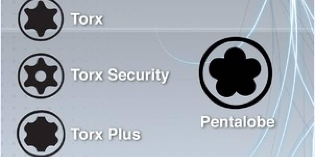 Apple cambia los tornillos del iPhone para que no puedas repararlo