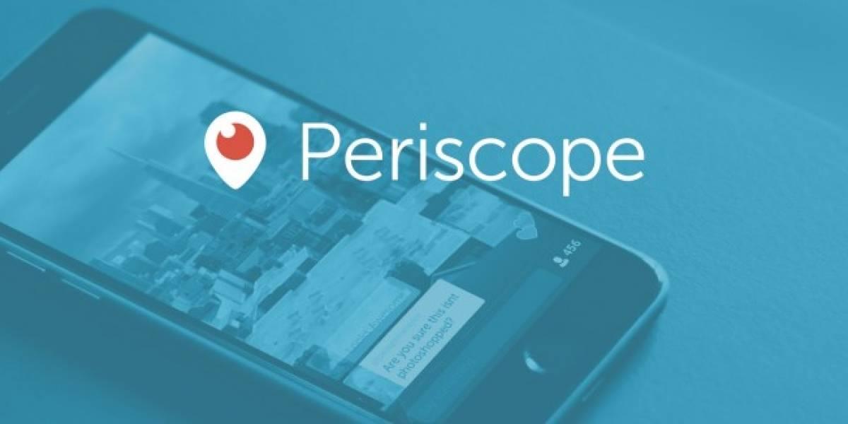 Periscope anuncia nuevas características para Android e iOS