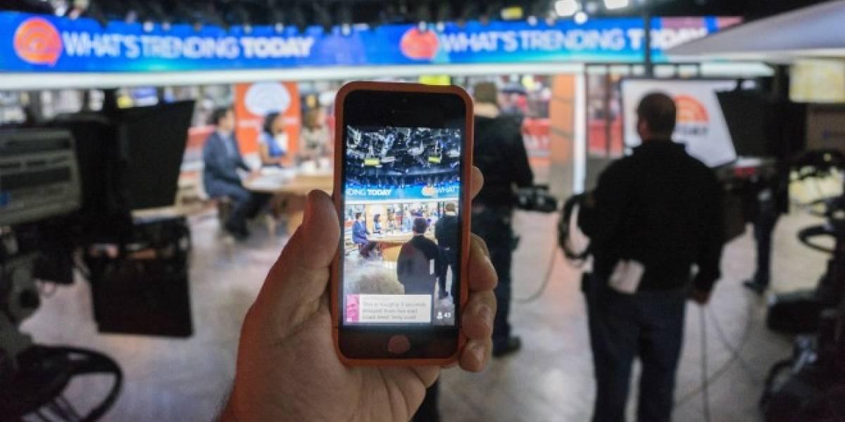 Apple elige a Periscope como la aplicación del año