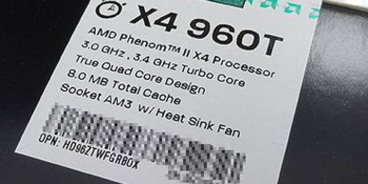 AMD lanza Phenom II X4 960T Black Edition