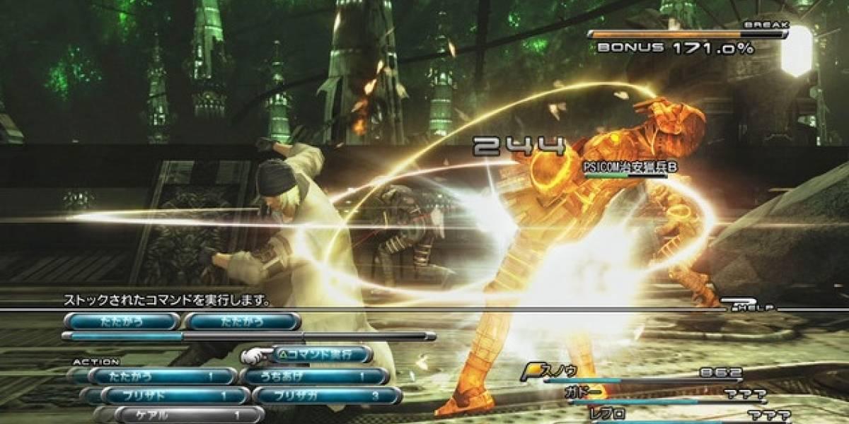 Imágenes del gameplay de Final Fantasy XIII
