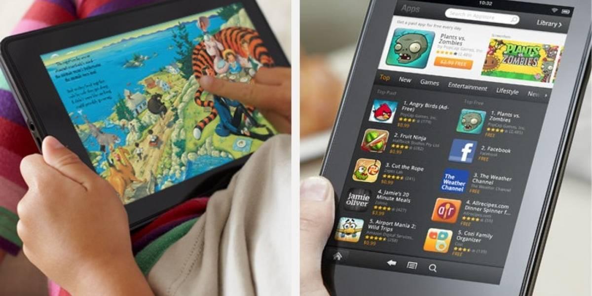 Amazon haría menos Kindle Fire previendo la llegada de iPad 3