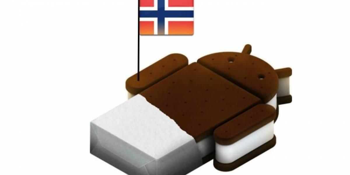 Los noruegos serán los primeros con Android 4.0 en Galaxy SII y Galaxy Note