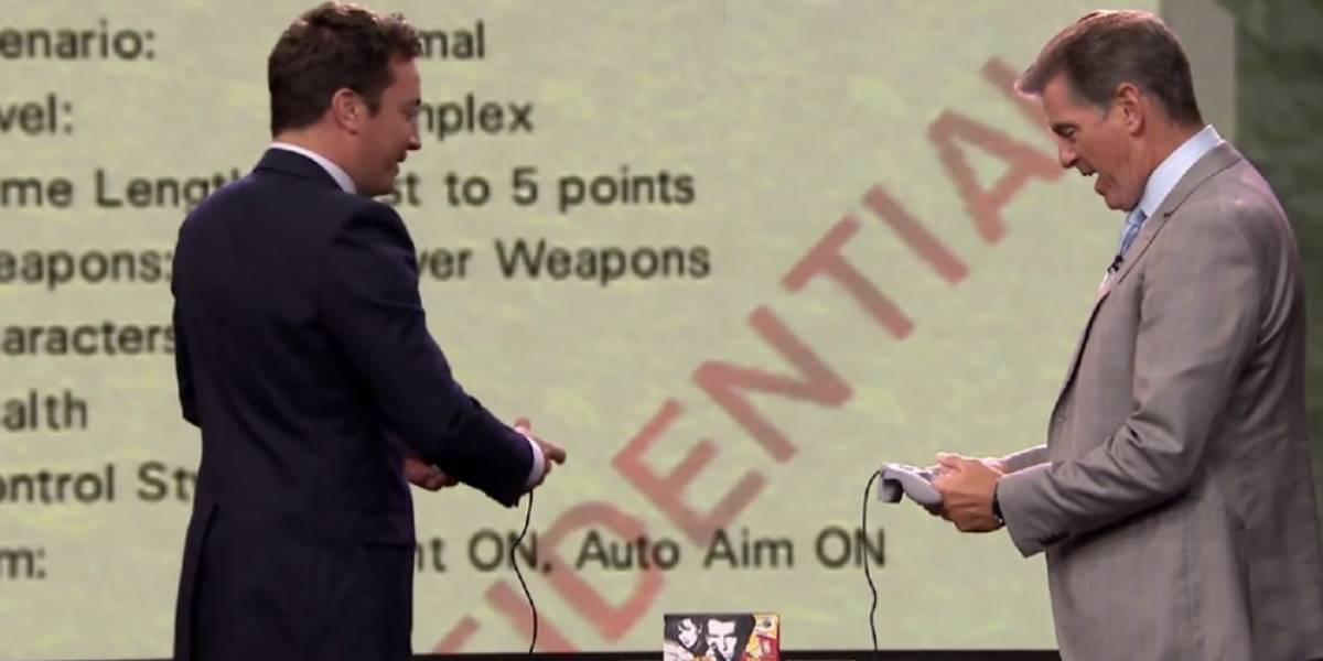 Pierce Brosnan jugó GoldenEye 007 en el programa de Jimmy Fallon